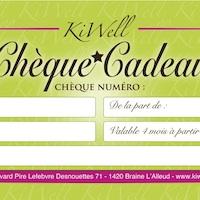 Chèques cadeaux KiWell